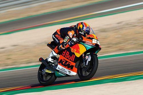Moto3テルエル予選:タイトル狙う小椋藍10番手に。ポールは好調フェルナンデス