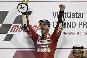 En la era MotoGP, la mitad de las veces el ganador de la primera carrera fue campeón