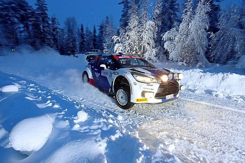 Bottas finishes ninth on Arctic Lapland Rally