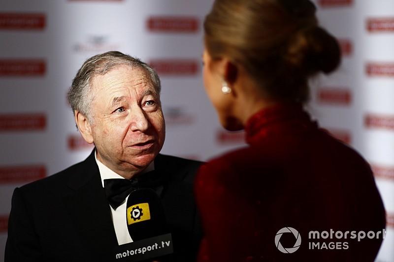 Todt e la FIA premiati agli Autosport Awards per l'introduzione dell'Halo