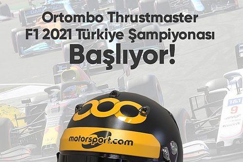 Ortombo Thrustmaster F1 2021 Türkiye Şampiyonası başlıyor!