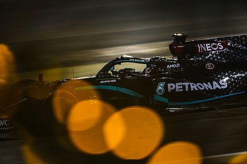 Bahrain GP: Hamilton storms to pole ahead of Bottas