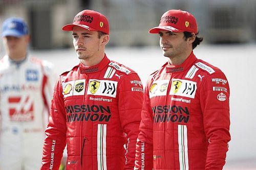 Sainz: Leclerc a leggyorsabb egy körön