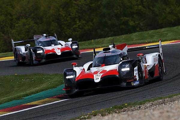 WEC Spa: Toyota op eerste rij, Racing Team Nederland P7 in LMP2