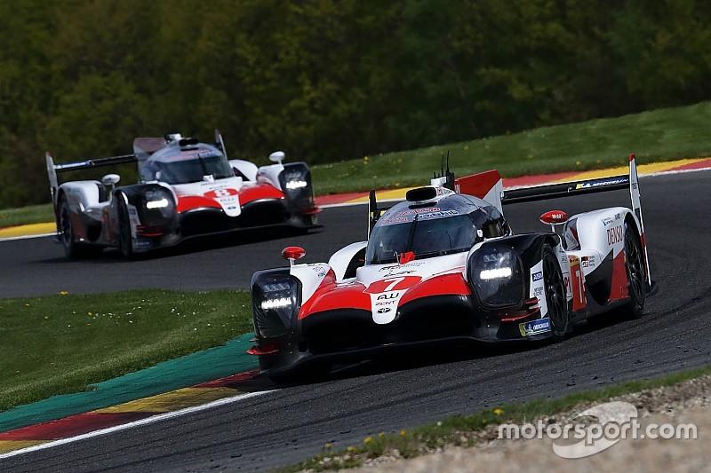 Qualifs - Toyota en pole à Spa, crash violent pour Fittipaldi