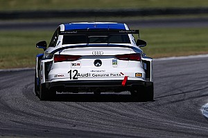 Prima vittoria in Classe TCR per l'Audi della eEuroparts.com Racing al Virginia International Raceway