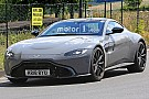 Automotive Aston Martin Vantage S spied trying to hide its extra power