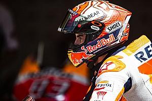 MotoGP Отчет о тренировке Из-за падения Маркес не смог автоматически пройти в финал квалификации
