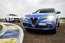 Auto Alfa Romeo Stelvio Quadrifoglio vs. Porsche Macan Turbo