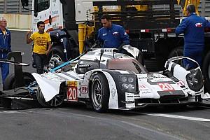 WEC Contenu spécial Porsche en LMP1 - Webber miraculé à Interlagos