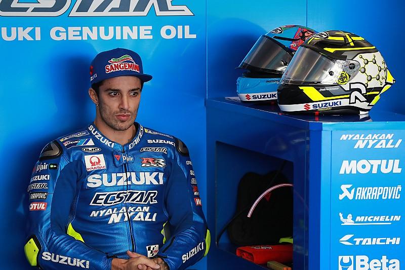 Suzuki konfirmasi perpisahan, Iannone menuju Aprilia