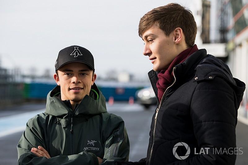 Eerste testdag in Formule 2: De Vries noteert tweede tijd