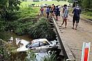 دبليو آر سي رالي أستراليا: إحدى السيارات تغرق في النهر في حادث غريب