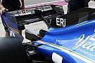 Formula 1 Sauber: via la T-wing e la pinna è molto più piccola sulla C36