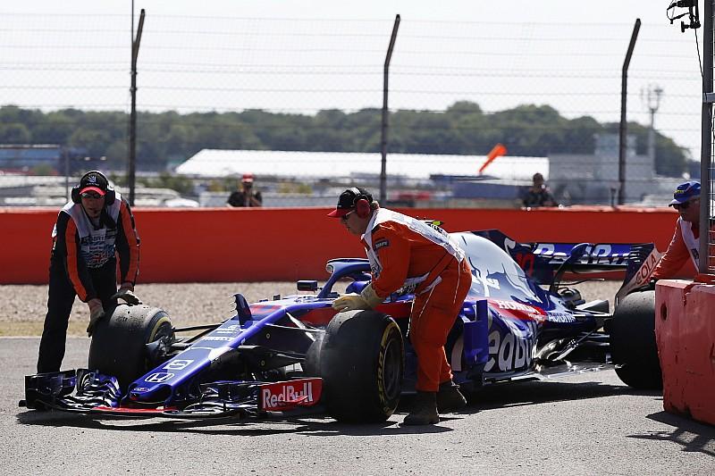 A Honda mindkét Toro Rossóban motort cserél a Brit Nagydíjon