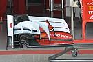 Ferrari revela sua nova asa dianteira na Rússia