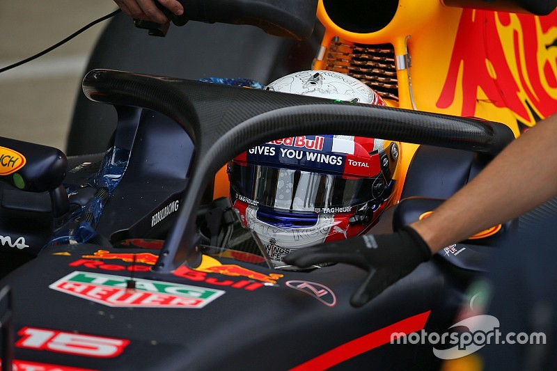 F1 Drivers Shown Shocking Images In Fia Halo Presentation