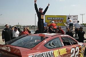 ARCA Race report Myatt Snider wins Toledo ARCA race in first series start
