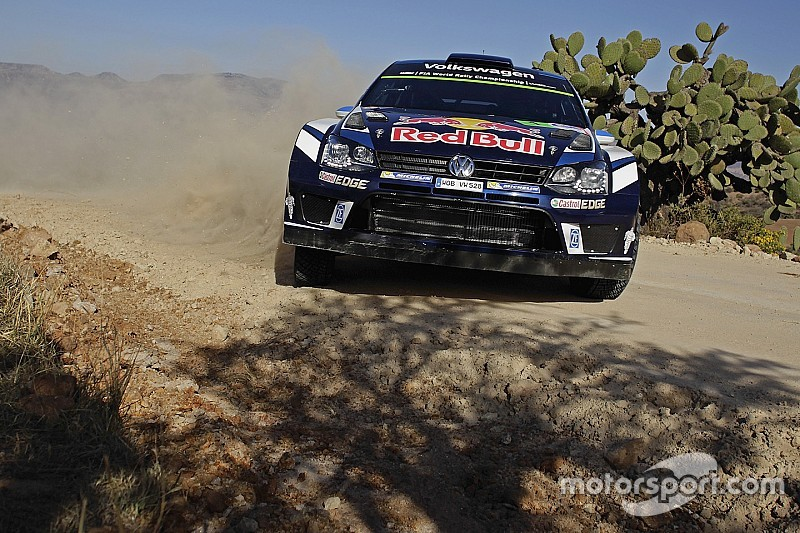 Mexico WRC: Ogier wins marathon stage, Latvala closes on victory