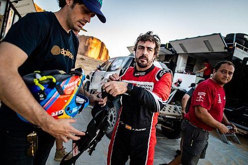 Alonso: A Toyotának és Comának köszönhetem, hogy befejeztem a Dakart