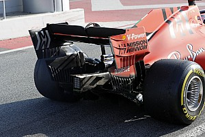 Ferrari teste des jantes inspirées par Mercedes