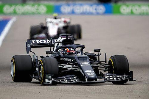 角田裕毅、F1ロシアGPは厳しい戦いに「マシンのバランスに終始苦労した」……レース最終盤、ドライに賭けるも報われず