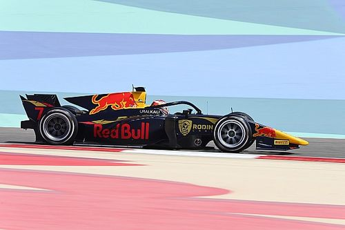 F2サヒール:レース1はレッドブル育成対決制したローソンがデビュー戦初優勝。佐藤万璃音は15位