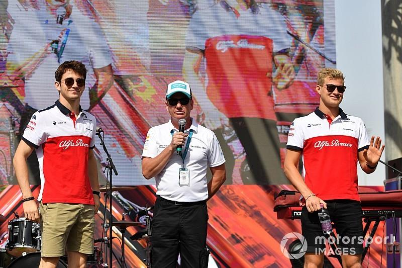 Fotogallery: l'Alfa Romeo Sauber nel Gran Premio di Abu Dhabi