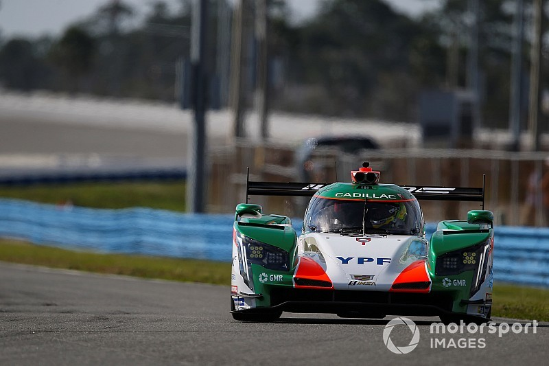 IMSA rookie Canapino impressed by Cadillac and Juncos team