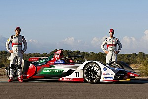 奥迪发布FE第五赛季e-tron FE05赛车