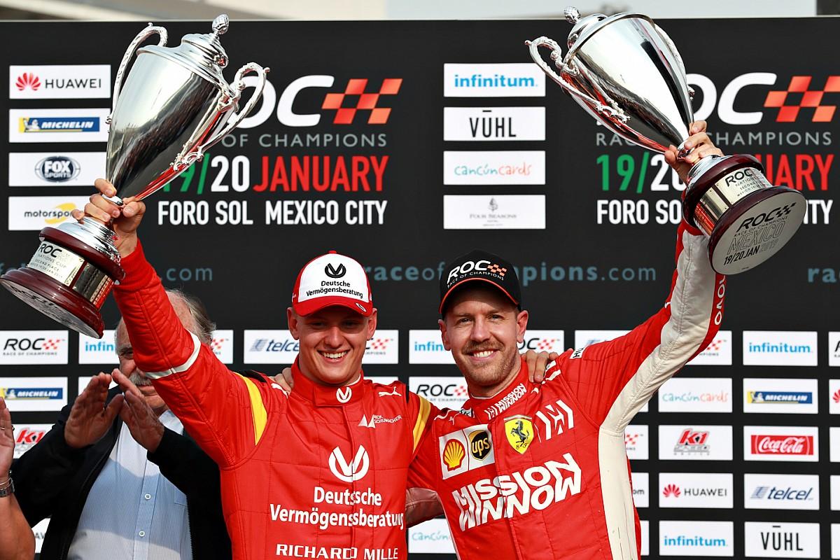 Vettel : Schumacher serait fier de voir Mick courir