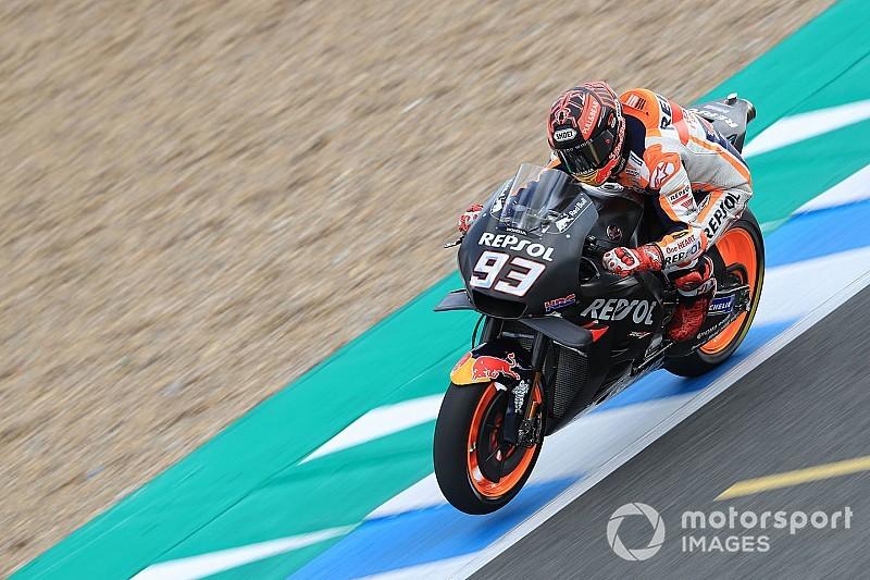 Marquez blij met Honda's positie na 'een van beste testdagen' in Jerez