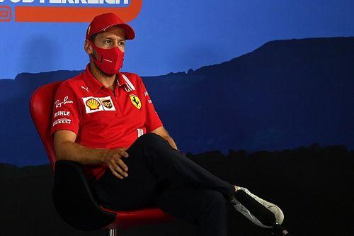 Vettel doute de l'influence du COVID-19 sur la décision de Ferrari