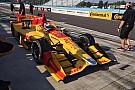 Гонщики Andretti з Indy Lights щасливі після своїх перших тестів в IndyCar