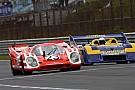 Retro Le Mans-winnende Porsches in actie tijdens Historische GP Zandvoort