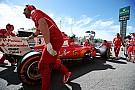 【F1】ベッテル、FP3のトラブルは水漏れ。エンジンの交換を決断