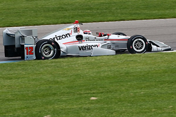 IndyCar-Grand-Prix Indianapolis: Pole für Power, Comeback für Montoya