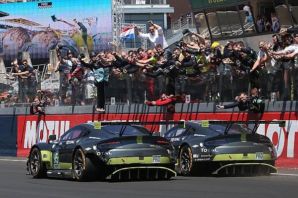 Aston Martin werkt aan nieuwe Vantage GTE voor 2018