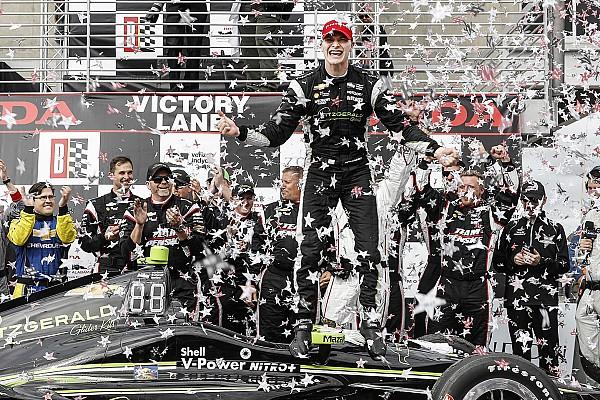 Newgarden brilla y obtiene su primer triunfo con Penske