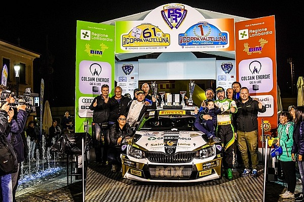 IRCup Pirelli: Luca Rossetti vince in Valtellina ed è campione