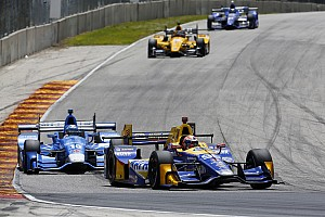 IndyCar Breaking news Rossi not taking responsibility for Kanaan shunt at Road America