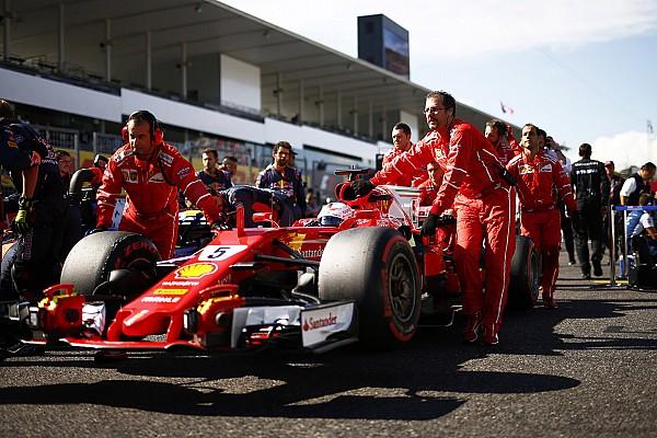 Формула 1 Важливі новини Феттель сприйняв попередження в Японії як невдалий жарт