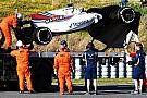 En Williams no saben si saldrán a pista el jueves tras el accidente de Stroll