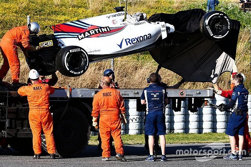 Crash de Stroll: Williams ignore s'il sera possible de rouler jeudi
