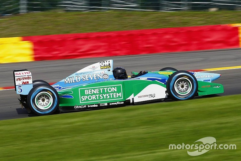 Bildergalerie: Mick Schumacher testet den Benetton B194 in Spa