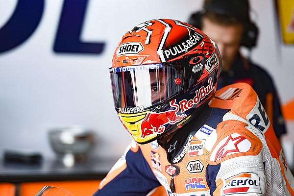 MotoGP Réactions Sur le mouillé, l'essentiel était de prendre ses repères pour Márquez