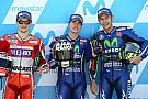 La grille de départ du GP d'Aragón MotoGP
