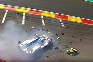 WEC Noticias Fittipaldi podría tener fracturadas sus piernas tras el accidente en Spa- VIDEO