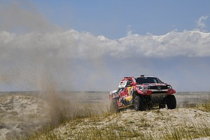 Dakar Rapport d'étape Autos, étape 12 - Al-Attiyah bat Peterhansel au sprint