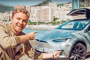 Automotive Breaking news Nico Rosberg drives Tesla Model X – calls Musk crazy